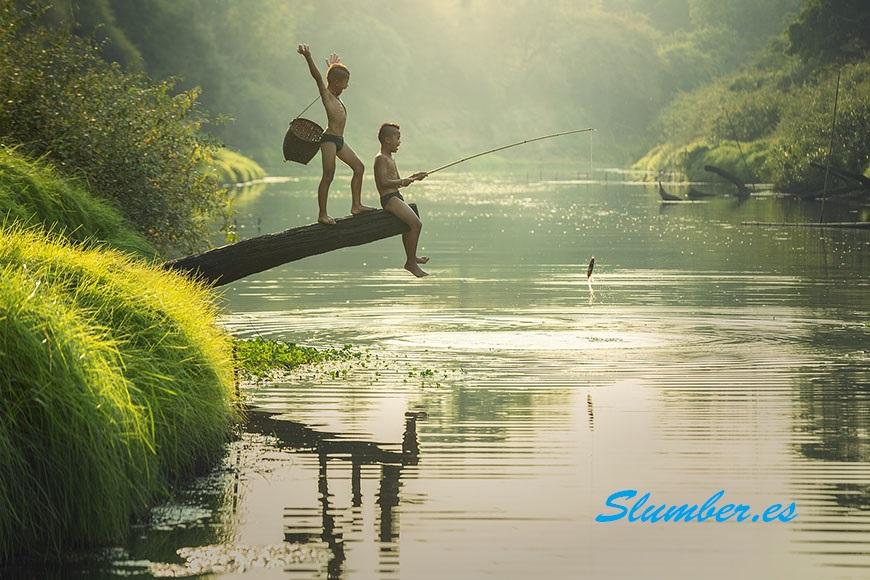 significado de soñar que estoy pescando con alguien en el rio