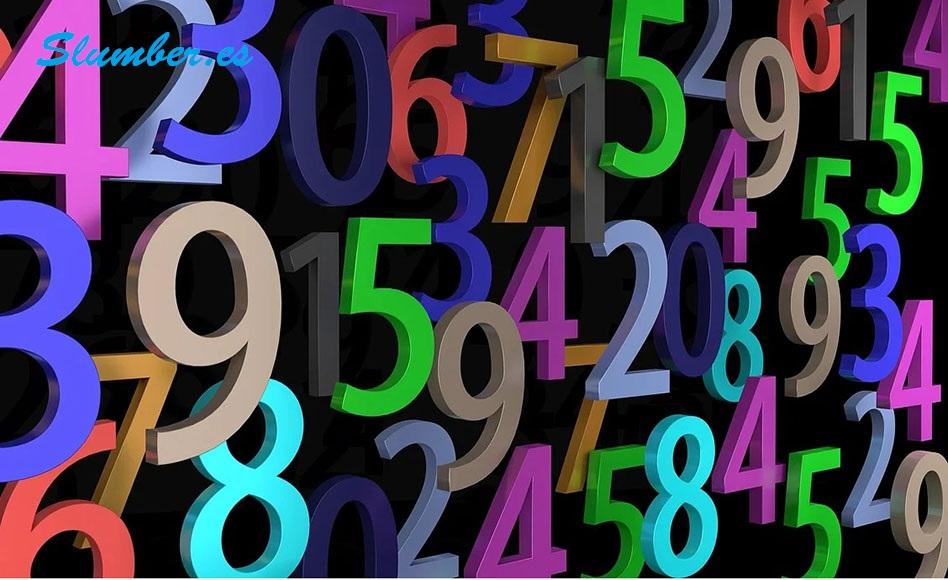 simbolismo de soñar con numeros